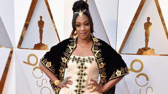 HOLLYWOOD, CA - MARCH 04:  Tiffany Haddish attends the 90th Annual Academy Awards at Hollywood & Highland Center on March 4, 2018 in Hollywood, California.  (Photo by Jeff Kravitz/FilmMagic)