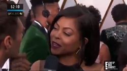 Taraji P. Henson Delivers Biggest Talking Point Of Oscars Red Carpet With Pointed Ryan Seacrest
