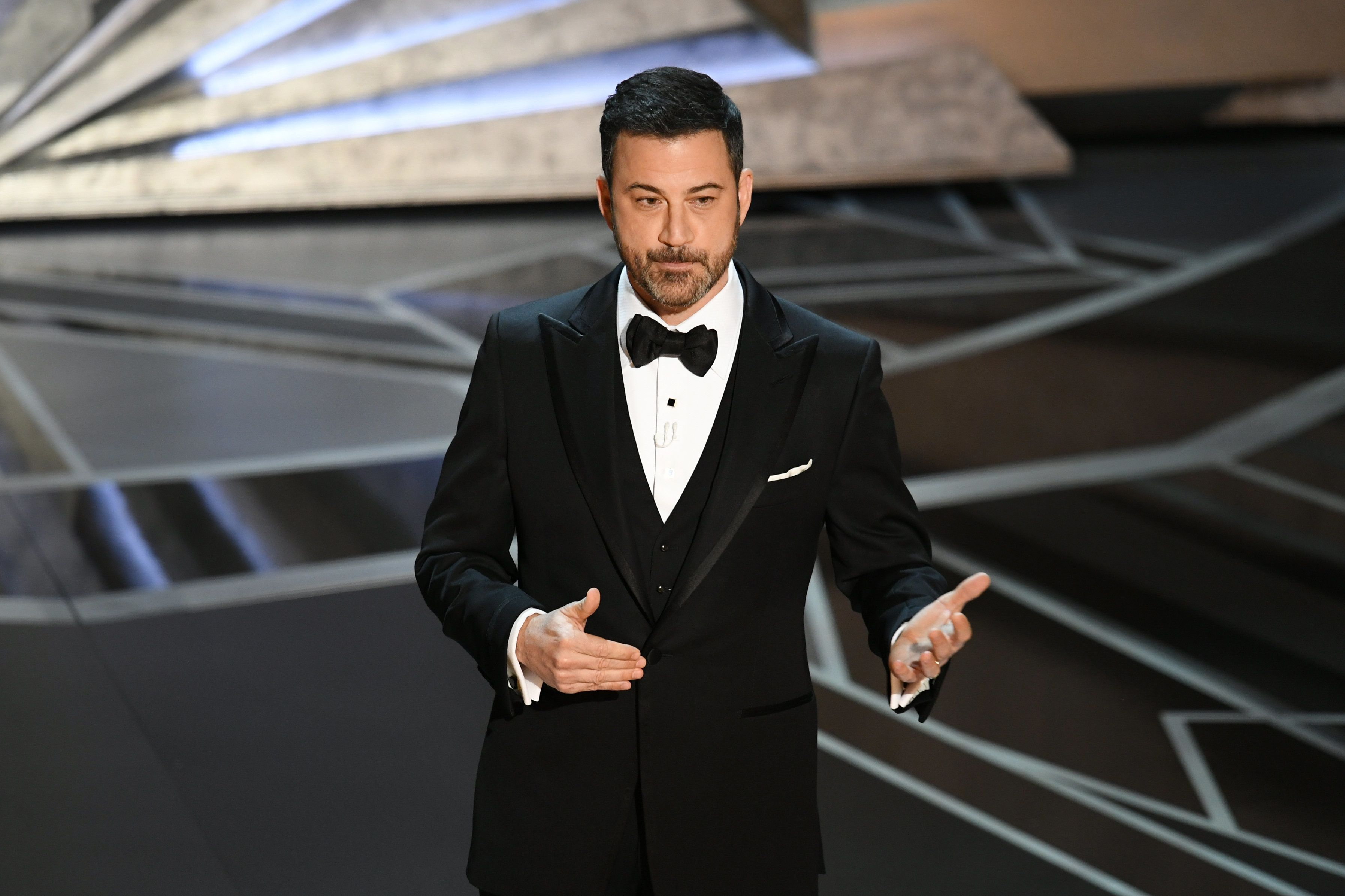 Jimmy Kimmel Plays It Safe With Oscars 2018 Opening