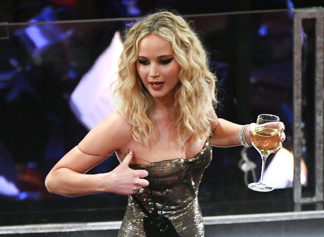 Jennifer Lawrence, en la 90ª edición de los