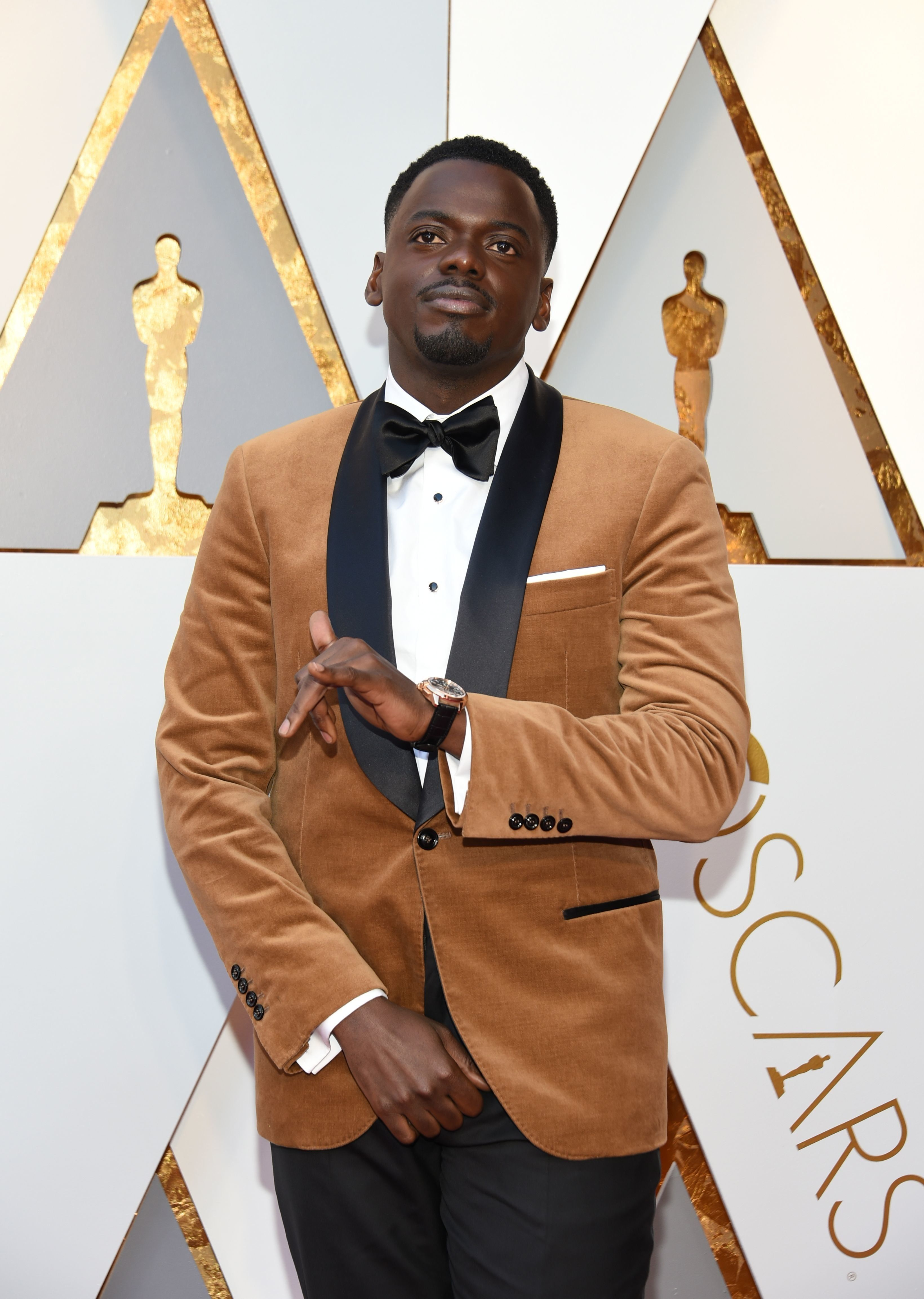 Daniel Kaluuya Expertly Handles 'Get Out' 'Box-Ticking' Question On Oscars Red