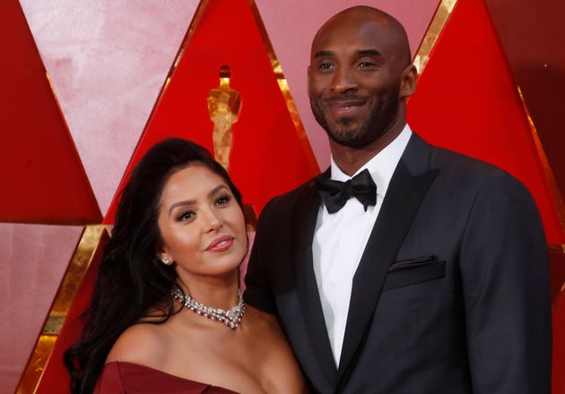 Kobe Bryant and Vanessa Laine Bryant arrive at the 90th Academy