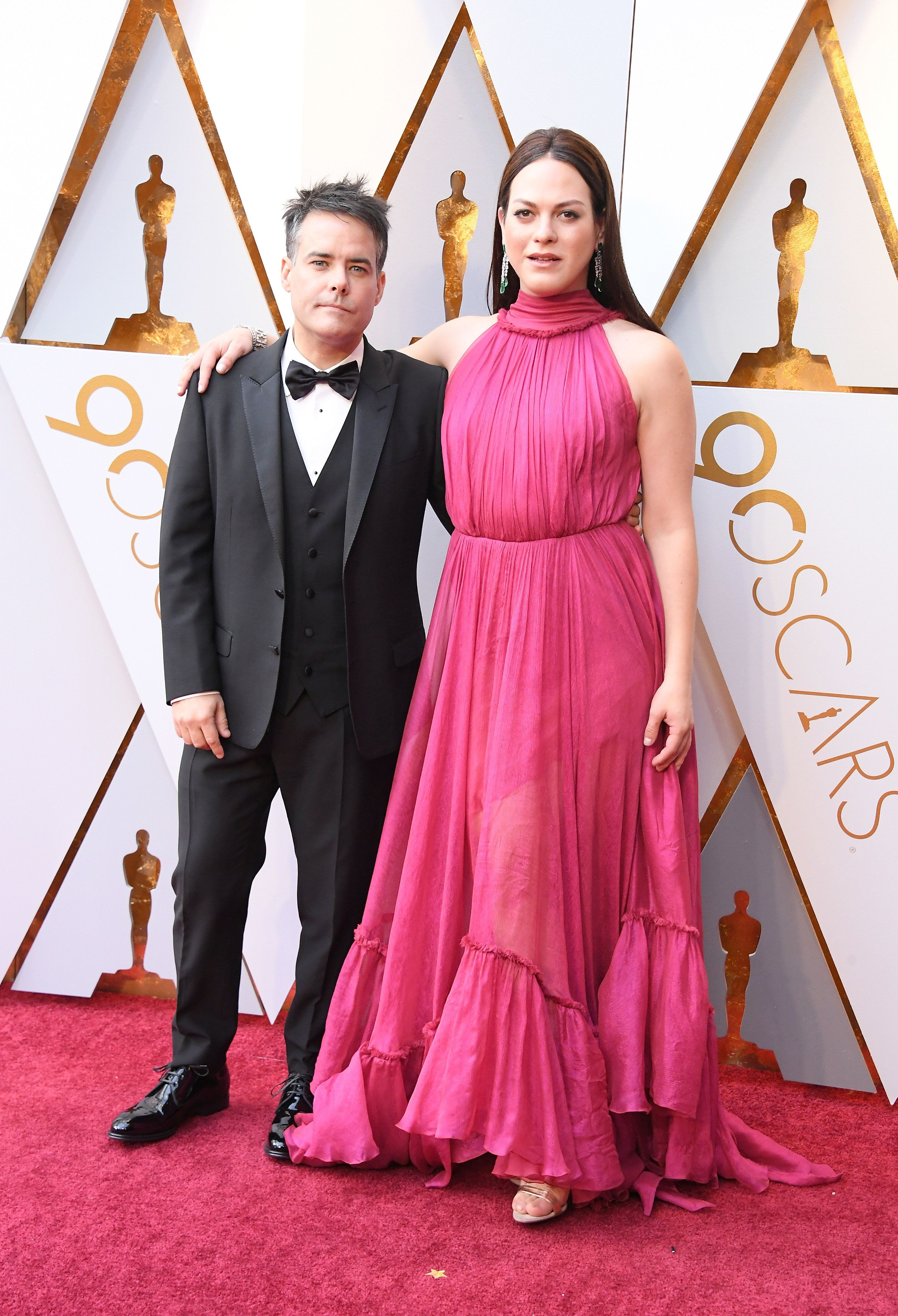 HOLLYWOOD, CA - MARCH 04: Sebastian Lelio and Daniela Vega attend the 90th Annual Academy Awards at Hollywood & Highland Center on March 4, 2018 in Hollywood, California.  (Photo by Steve Granitz/WireImage)