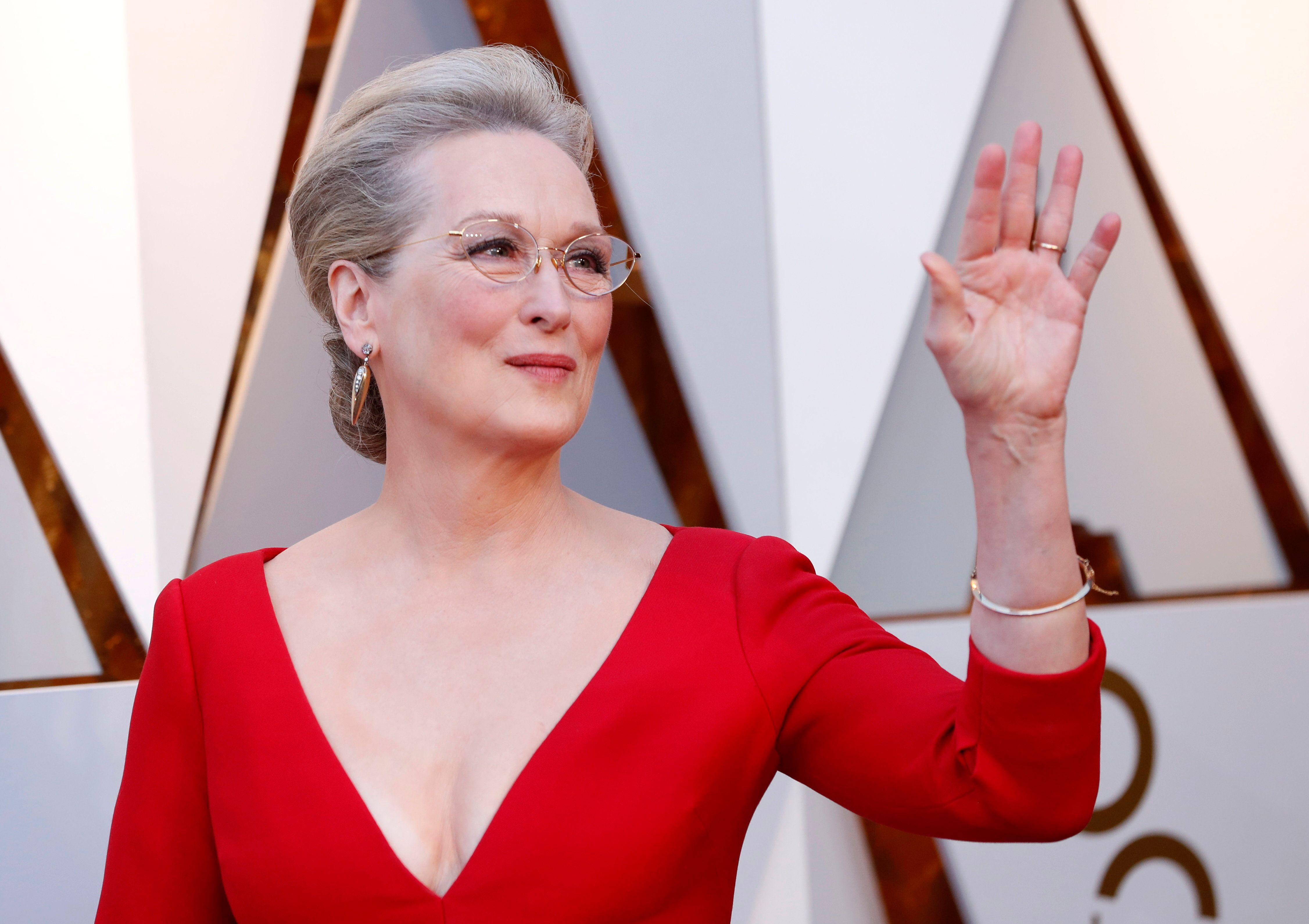90th Academy Awards - Oscars Arrivals - Hollywood, California, U.S., 04/03/2018 - Meryl Streep REUTERS/Mario Anzuoni