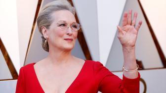 90th Academy Awards - Oscars Arrivals - Hollywood, California, U.S., 04/03/2018 - Meryl Streep REUTERS/Mario Anzuoni