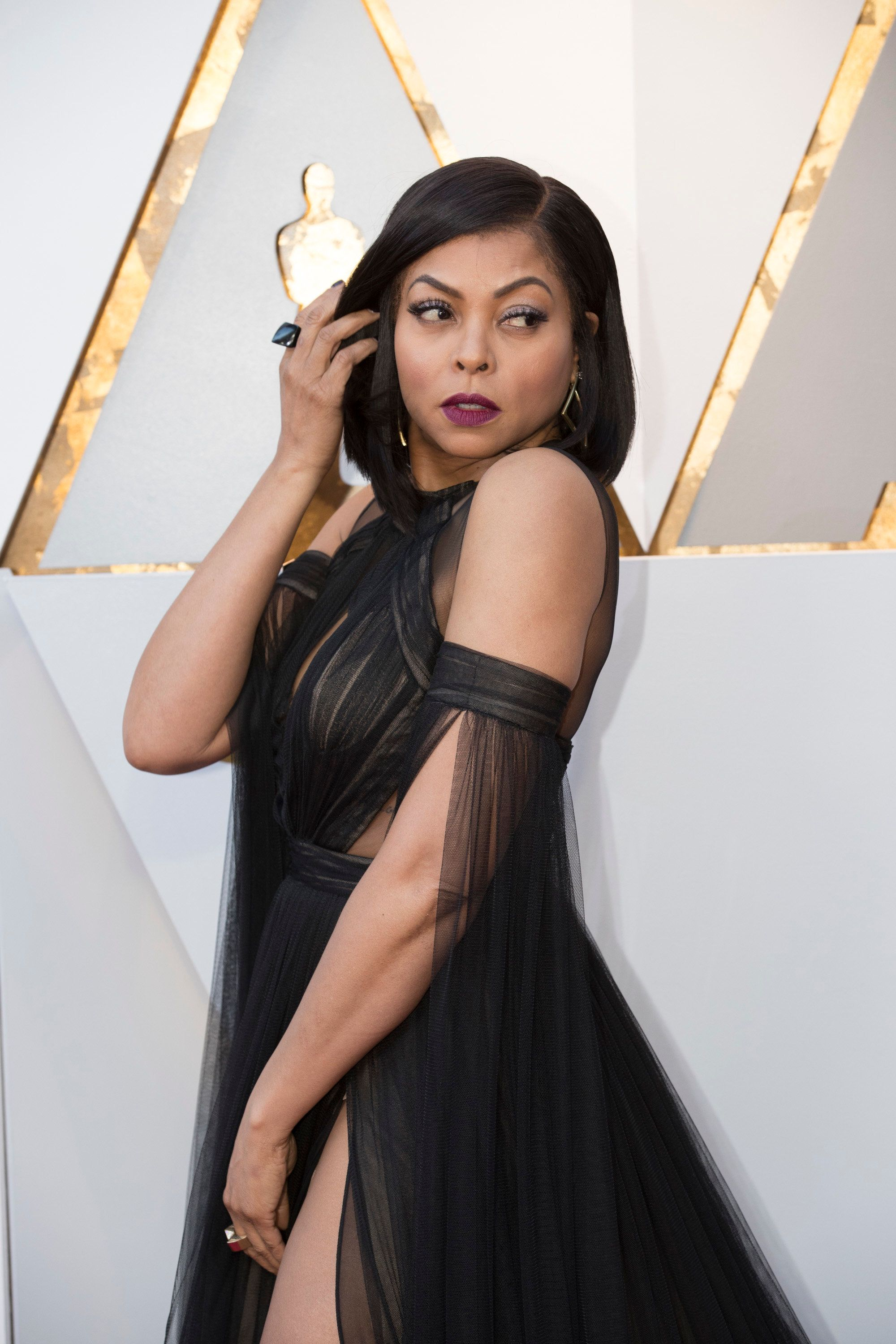 THE OSCARS(r) - The 90th Oscars(r)  broadcasts live on Oscar(r) SUNDAY, MARCH 4, 2018, at the Dolby Theatre® at Hollywood & Highland Center® in Hollywood, on the ABC Television Network. (Eric McCandless via Getty Images) TARAJI P. HENSON