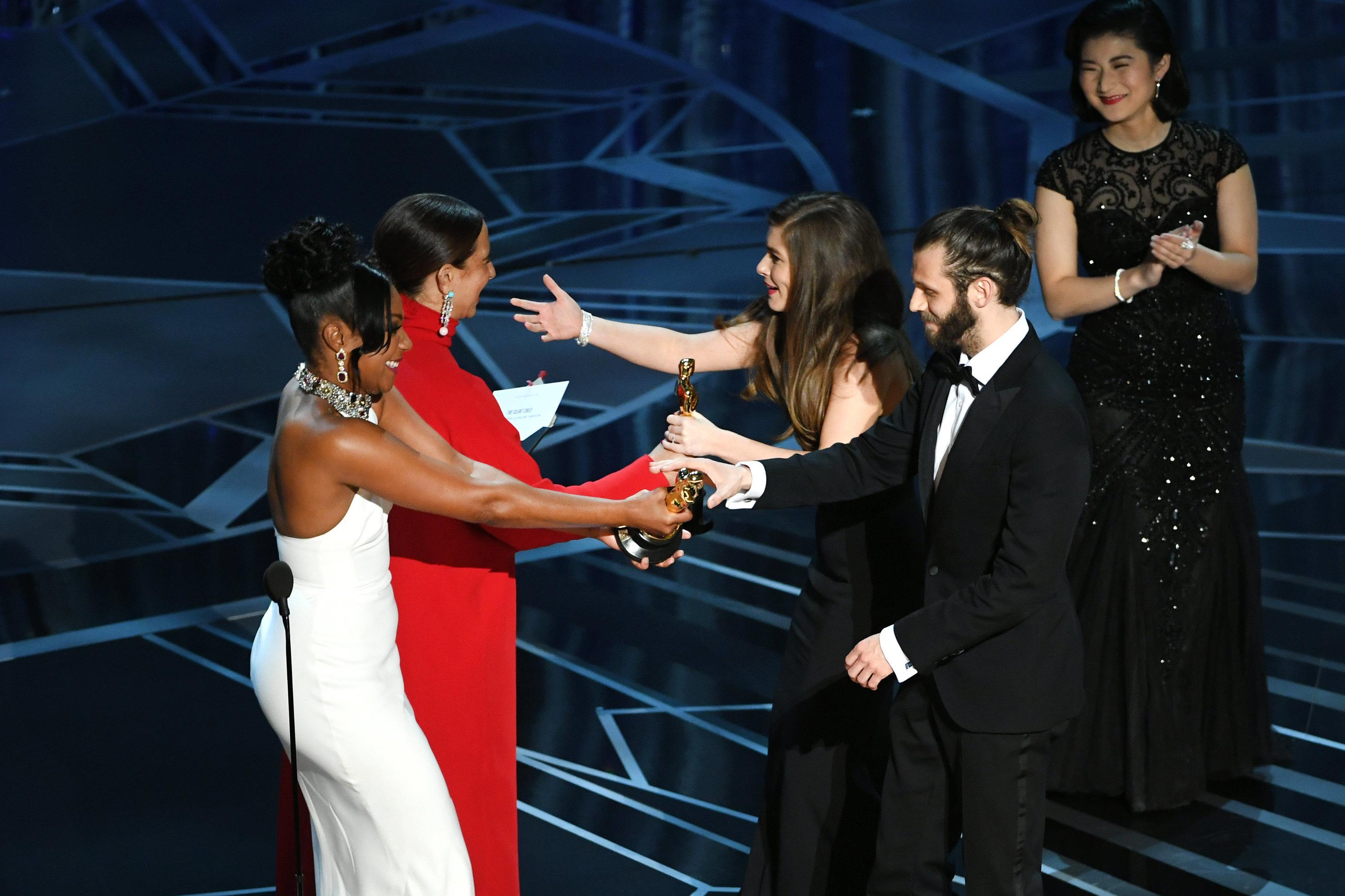 Oscar win for film highlighting struggles of deaf children at school