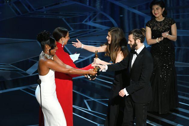 Oscars 2018: Rachel Shenton, Aka Mitzeee From 'Hollyoaks', Signs Her