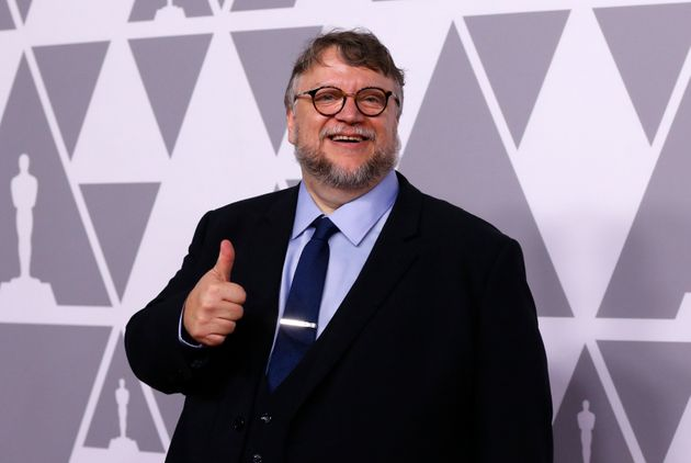 Guillermo del Toro arrives at the 90th Oscars Nominees