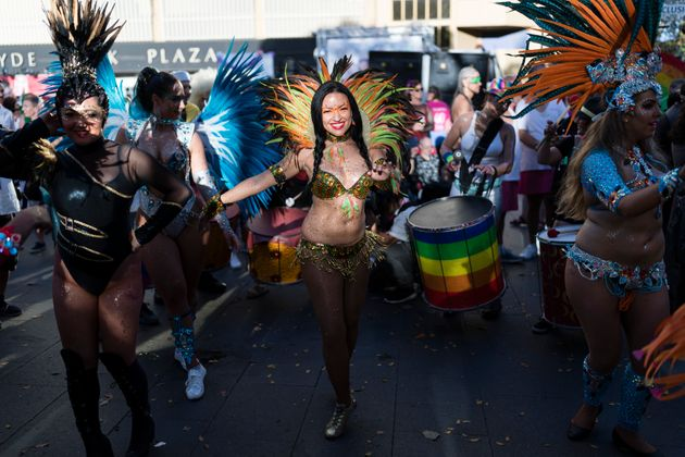 The Dazzling Colour, Glitter And Floats From Sydney's Gay And Lesbian Mardi