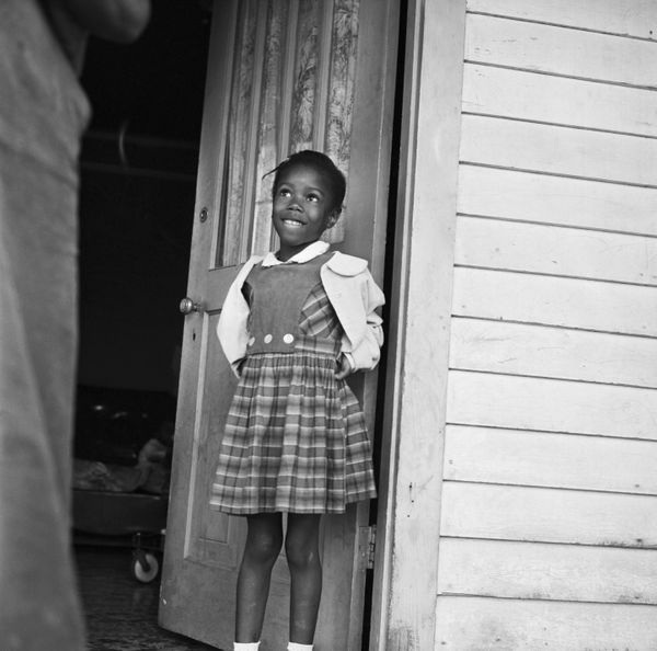 In 1960 at the age of 6, Ruby Bridges became the first black student to attend William Frantz Elementary Schoo