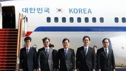 대북특사단이 평양으로 향하며 밝힌