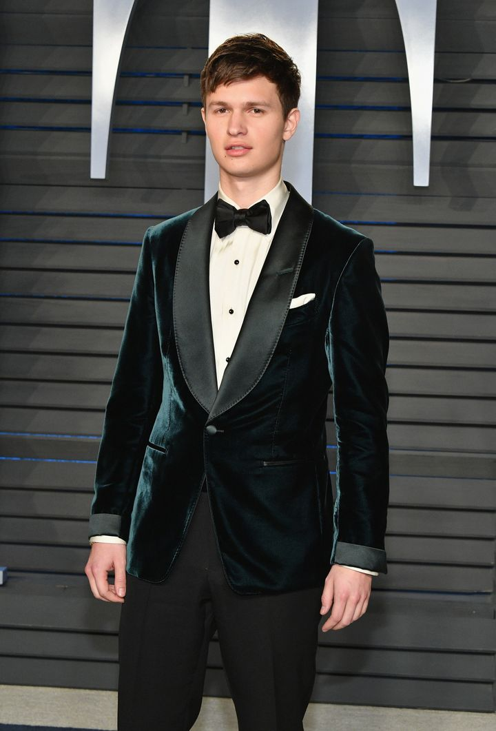 Ansel Elgort, who gets it.
