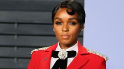 Looks We Love: Janelle Monae Is A Lady In Crimson At The Vanity Fair Oscars