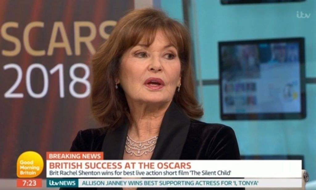 Susanna Reid Quizzes Stephanie Beacham After She Refers To Harvey Weinstein As A 'Poor