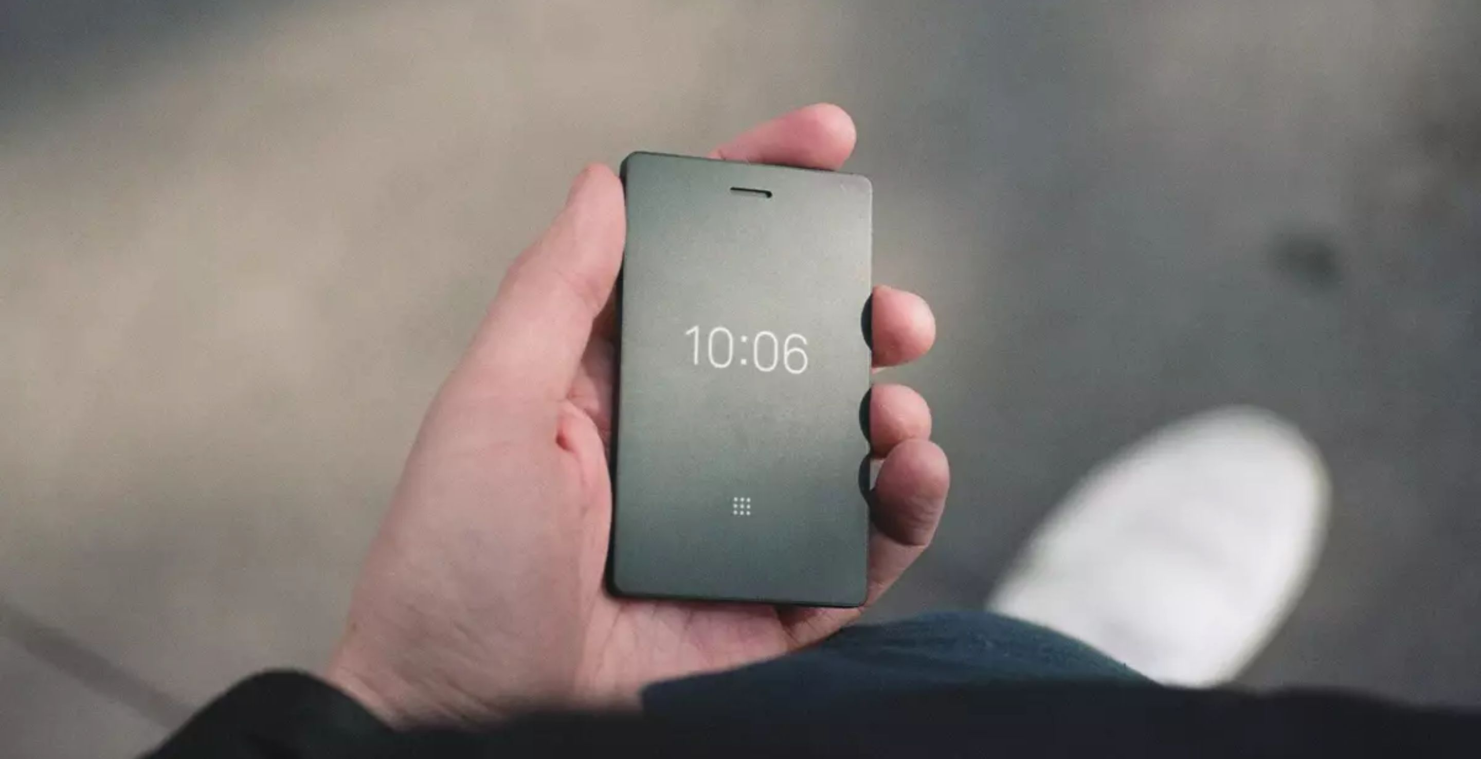 Tired Of Technology? This Beautiful-Looking Phone Does Just Four