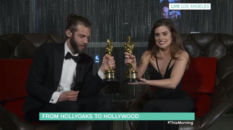 Hollyoaks actress wins Oscar for short film about deaf girl