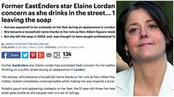 Mail Online Cuts 26 'Intrusive' Images From Elaine Lordan Article After