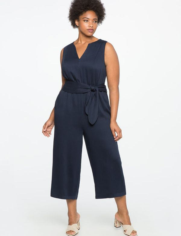 """Get it on <a href=""""http://www.eloquii.com/cropped-wide-leg-jumpsuit/1324852.html?cgid=jumpsuits&dwvar_1324852_colorCode=4"""