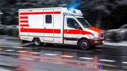 Hessen: Mann ruft Rettungswagen – und beginnt, auf Sanitäter