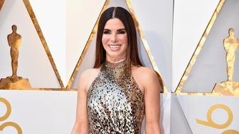 HOLLYWOOD, CA - MARCH 04:  Sandra Bullock attends the 90th Annual Academy Awards at Hollywood & Highland Center on March 4, 2018 in Hollywood, California.  (Photo by Jeff Kravitz/FilmMagic)