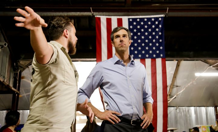 Rep. Beto O'Rourke (D-Texas) is running to unseat Sen. Ted Cruz (R-Texas).