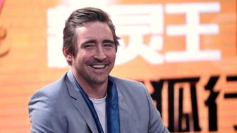 BEIJING, CHINA - JUNE 05:  (CHINA OUT) Actor Lee Pace attends a press conference at SOHU.com Media Plaza on June 5, 2015 in Beijing, China.  (Photo by VCG/VCG via Getty Images)