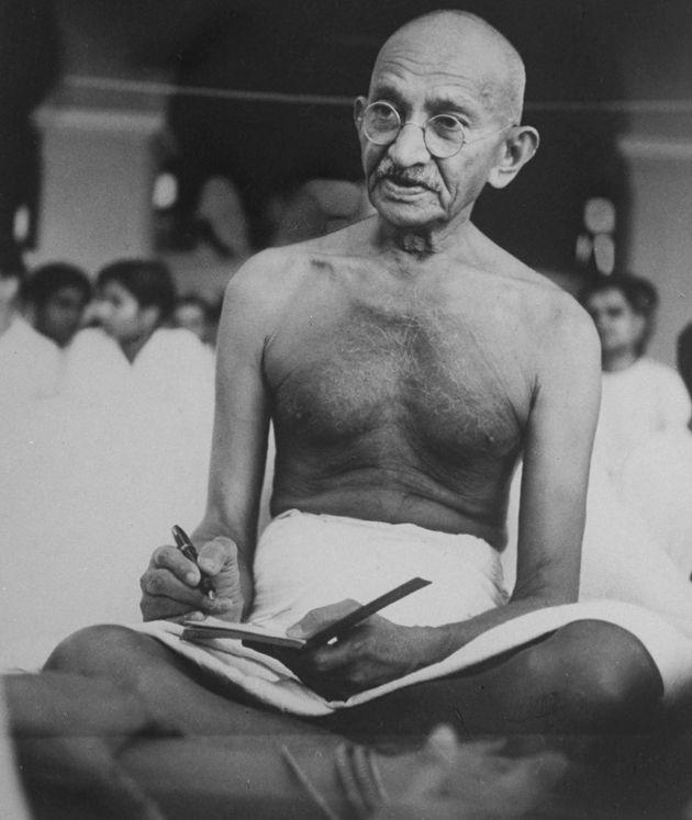 Mohandas K. Gandhi wasa key leader of India's independence