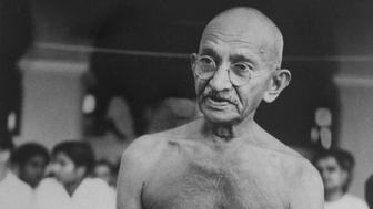Hindu nationalist leader Mohandas Gandhi (1869-1948).  (Photo by Time Life Pictures/Mansell/The LIFE Picture Collection/Getty Images)