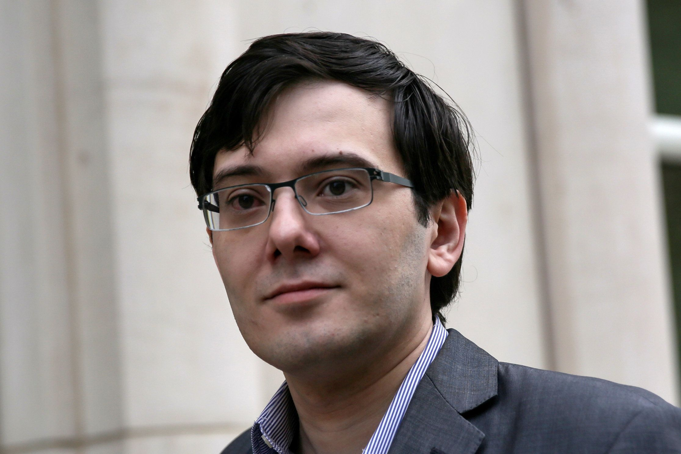 Shkreli is scheduled to be sentenced for securities fraud later this week.
