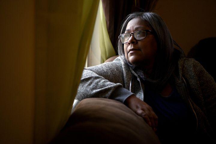 """I cry every night. I still miss him,"" says Carmen Carrasquillo, Pedro Maldonado's widow. Maldonado, 59, went to Ambulatory C"