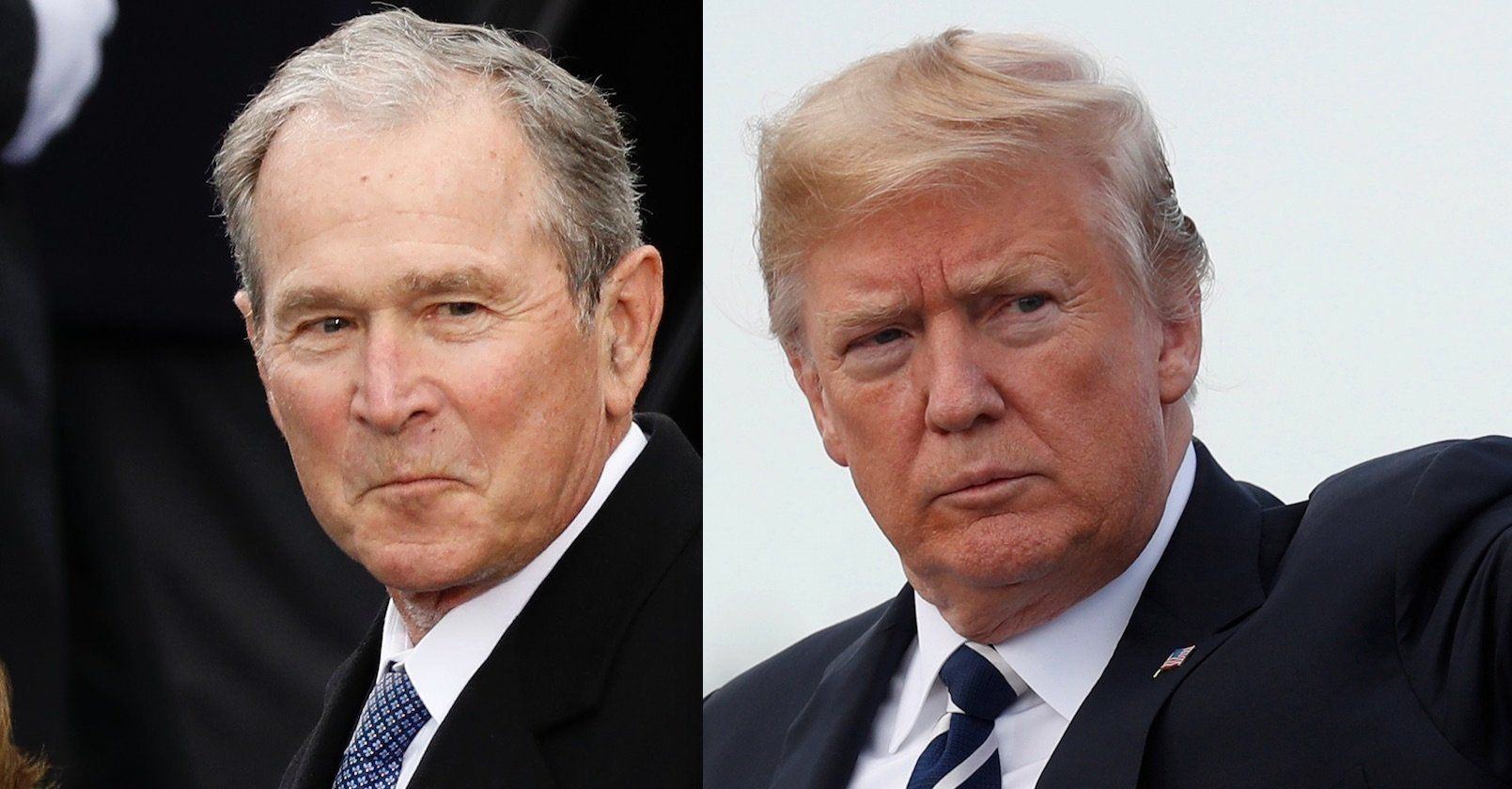 George W Bush Donald Trump