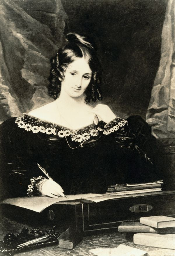 English author Mary Shelley was just 18 years old when she wrote Frankenstein, which many credit as the origin of <