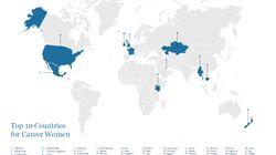 Οι τοπ 10 χώρες για να αναζητήσουν εργασία οι γυναίκες