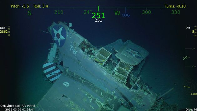 Το βυθισμένο αμερικανικό αεροπλανοφόρο USS «Lexington» βρέθηκε μετά από 76