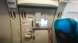 First-Class Passenger Tries To Open Emergency Door Mid-Flight, Shouts 'I Am