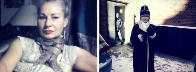 Nicole Förster ist obdachlos, sieht aber trotzdem aus wie eine Grand