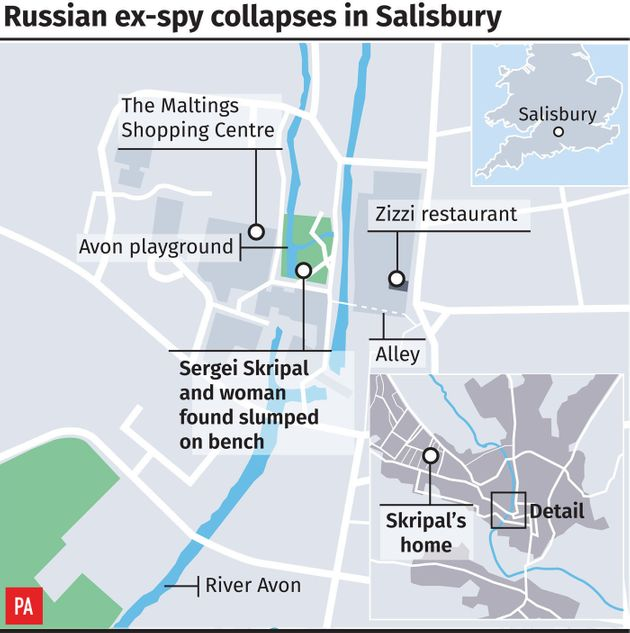 Sergei Skripal: Daughter Of 'Poisoned' Russian MI6 Spy Pictured For The First