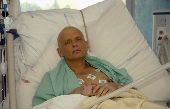 Alexander Litvinenko on his