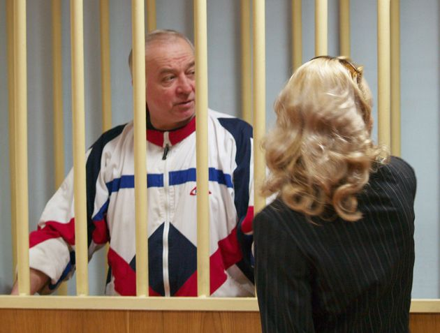 Skripal pictured in 2006 during a hearing at the Moscow District