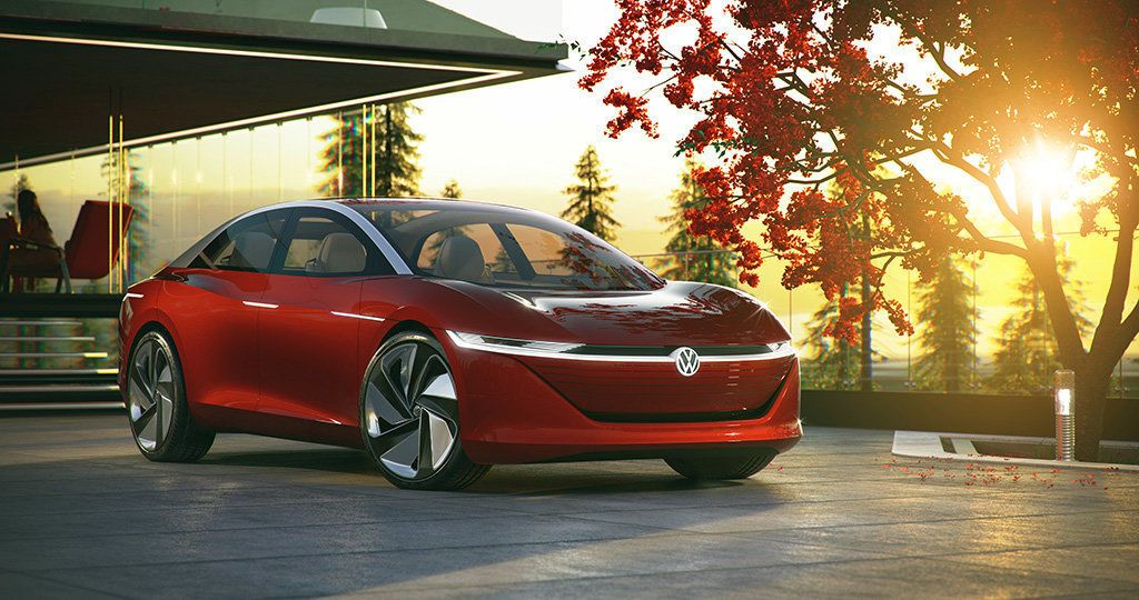 VW's Stunning Vizzion Is Electric, Has No Steering Wheel And Will Go On Sale By