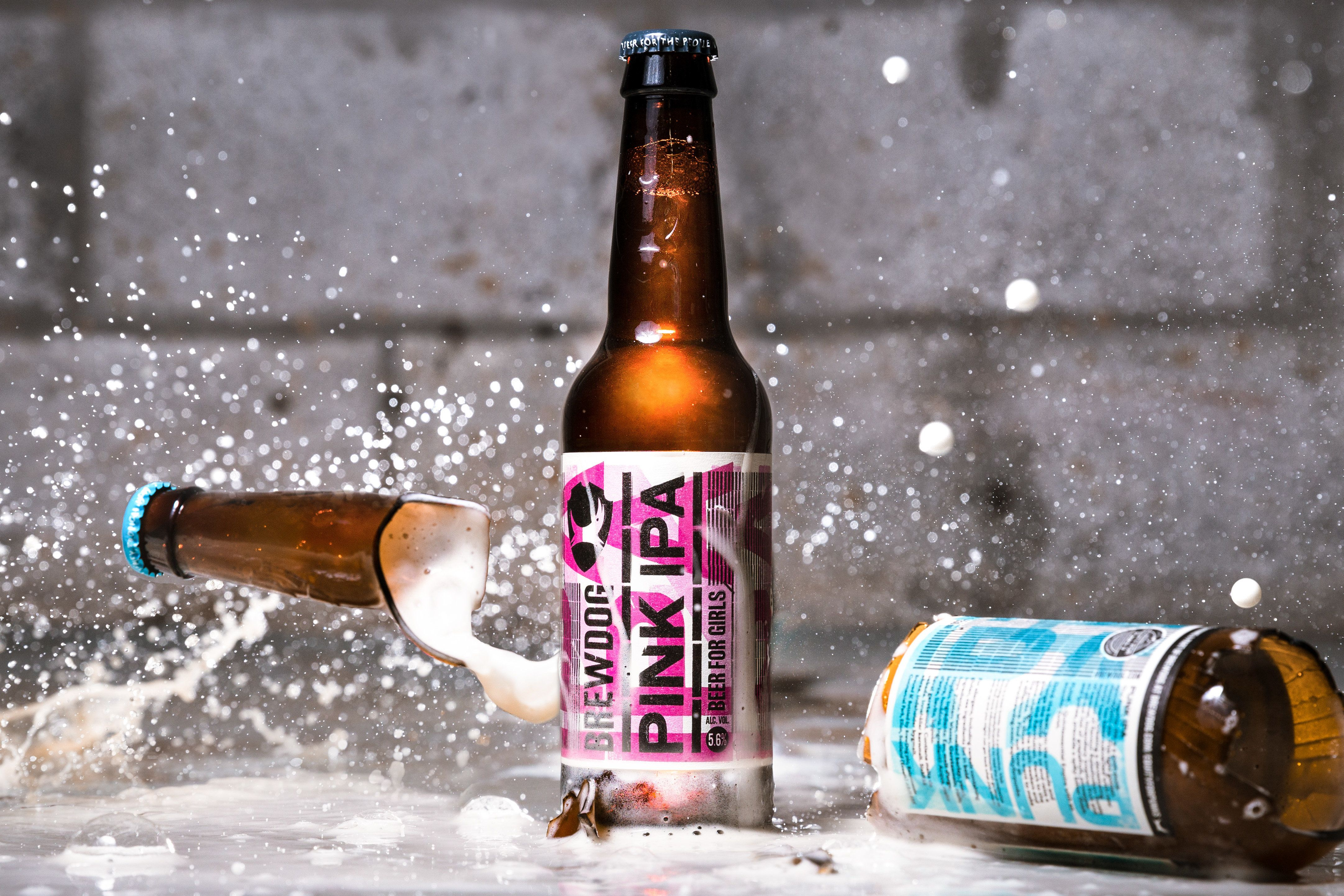 BrewDog's 'Pink IPA' For Women Is Dividing Public