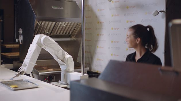 'Flippy' The Burger-Flipping Robot Starts Work In