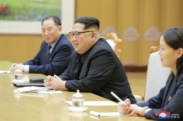 Ιστορική συνάντηση κορυφής συμφώνησαν Βόρεια και Νότια