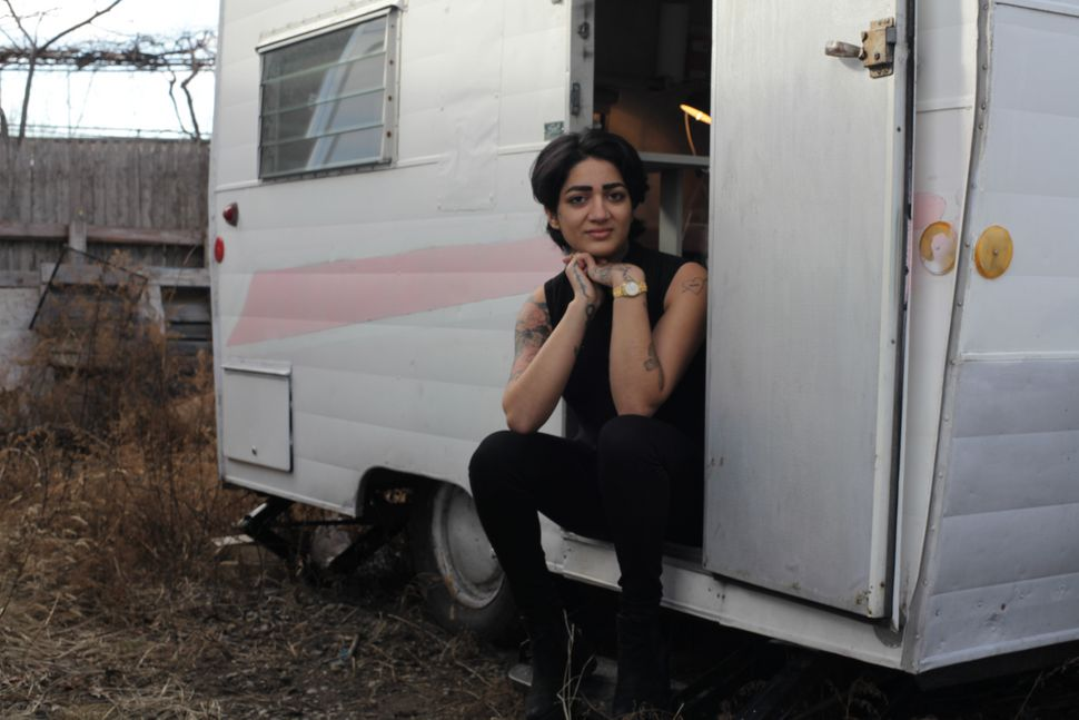 Shanzey Afzal's 1963 Shasta trailer lives in New York City when she isn't traveling.