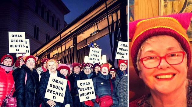 Wir sind Omas und wollen alle Rechtsextremen aus Europa