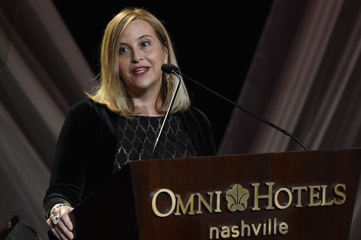 Nashville Mayor Megan Barry, seen in 2017, pleaded guilty on Tuesday to felony theft of property over $10,000.