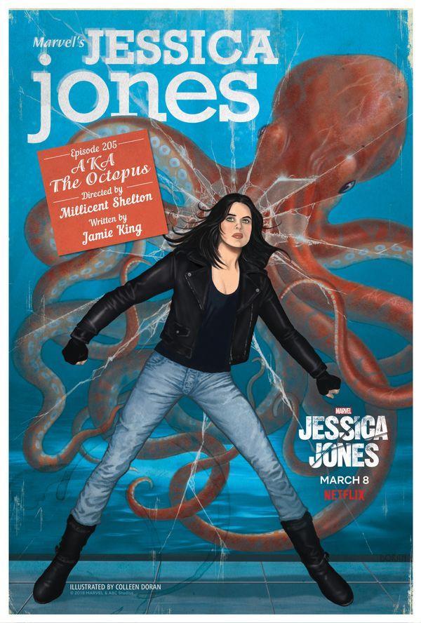 "Episode 205: ""AKA The Octopus""<br> Artist: Colleen Doran"