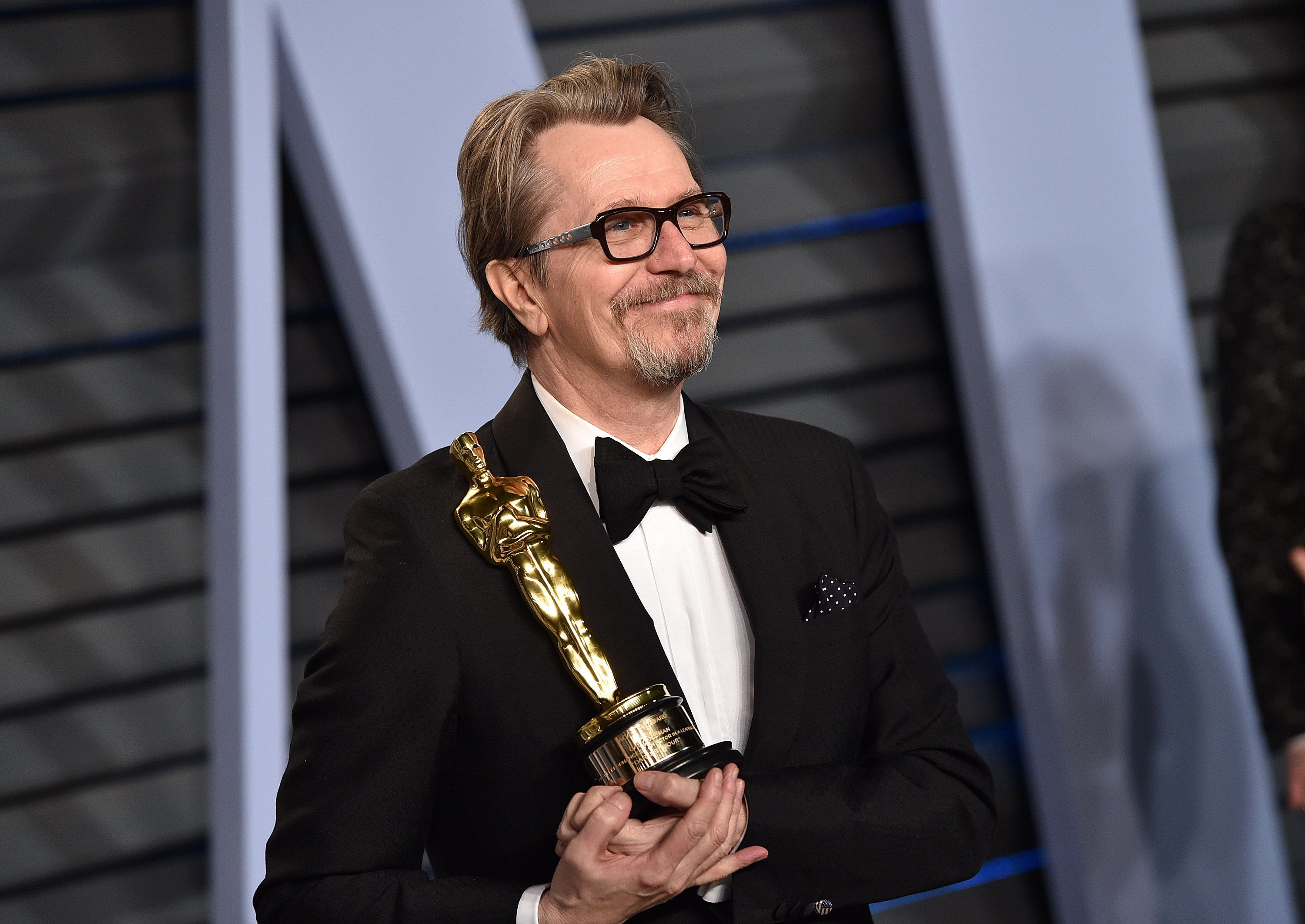 Who Is Gary Oldman's Wife? Meet Gisele Schmidt, Oscar Nominee's Better Half