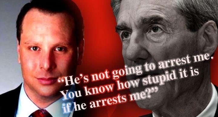 Sam Nunberg and Robert Mueller.